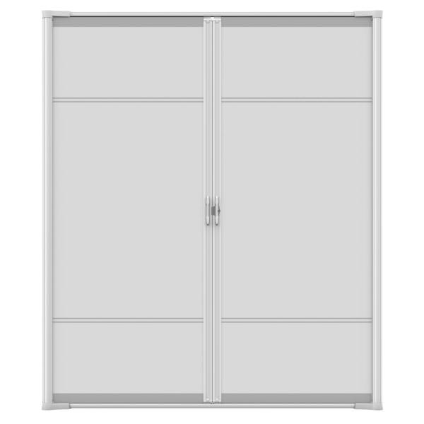 Unbranded 72 In X 81 In Brisa White Standard Double Retractable Screen Door Kit 77020371 The Home Depot