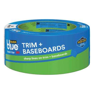 ScotchBlue 1.88 in. x 60 yds. Trim and Baseboards Painter's Tape with Edge-Lock (Case of 18)