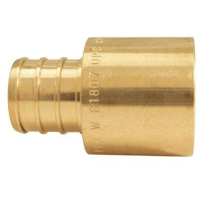 3/4 in. Brass PEX Barb x 3/4 in. Female Copper Sweat Adapter