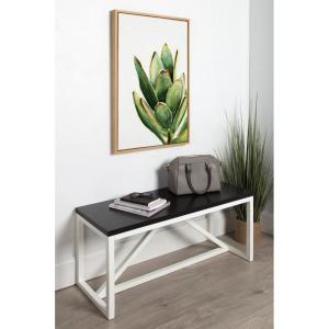 "Sylvie ""Succulent 18"" by Redstreake Framed Canvas Wall Art"