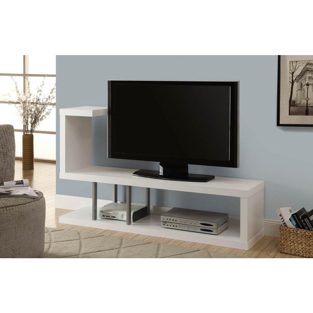 monarch specialties tv stand. Monarch Specialties White Entertainment Center Tv Stand