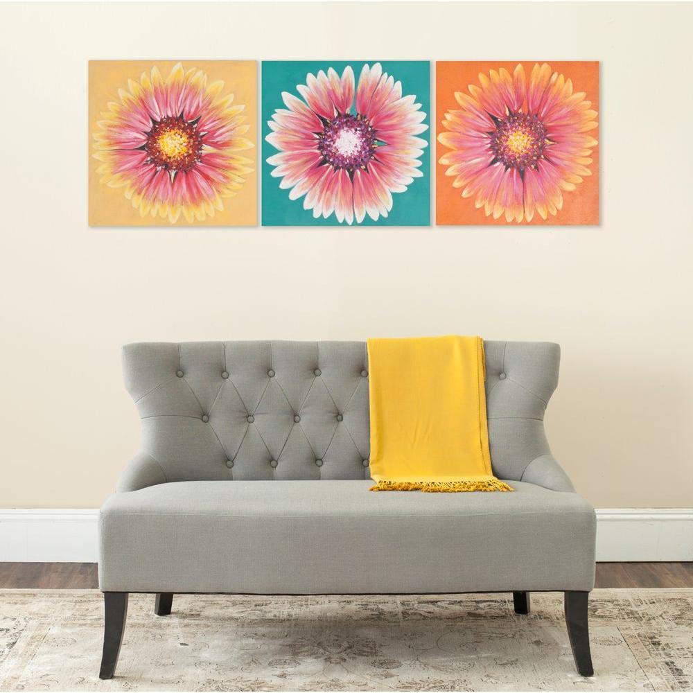 "20 in. x 60 in. ""Assorted Shasta Triptych"" Wall Art"