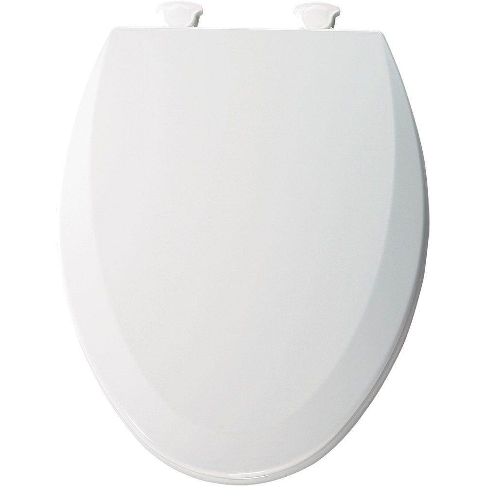 Tremendous Bemis Lift Off Elongated Closed Front Toilet Seat In White Dailytribune Chair Design For Home Dailytribuneorg