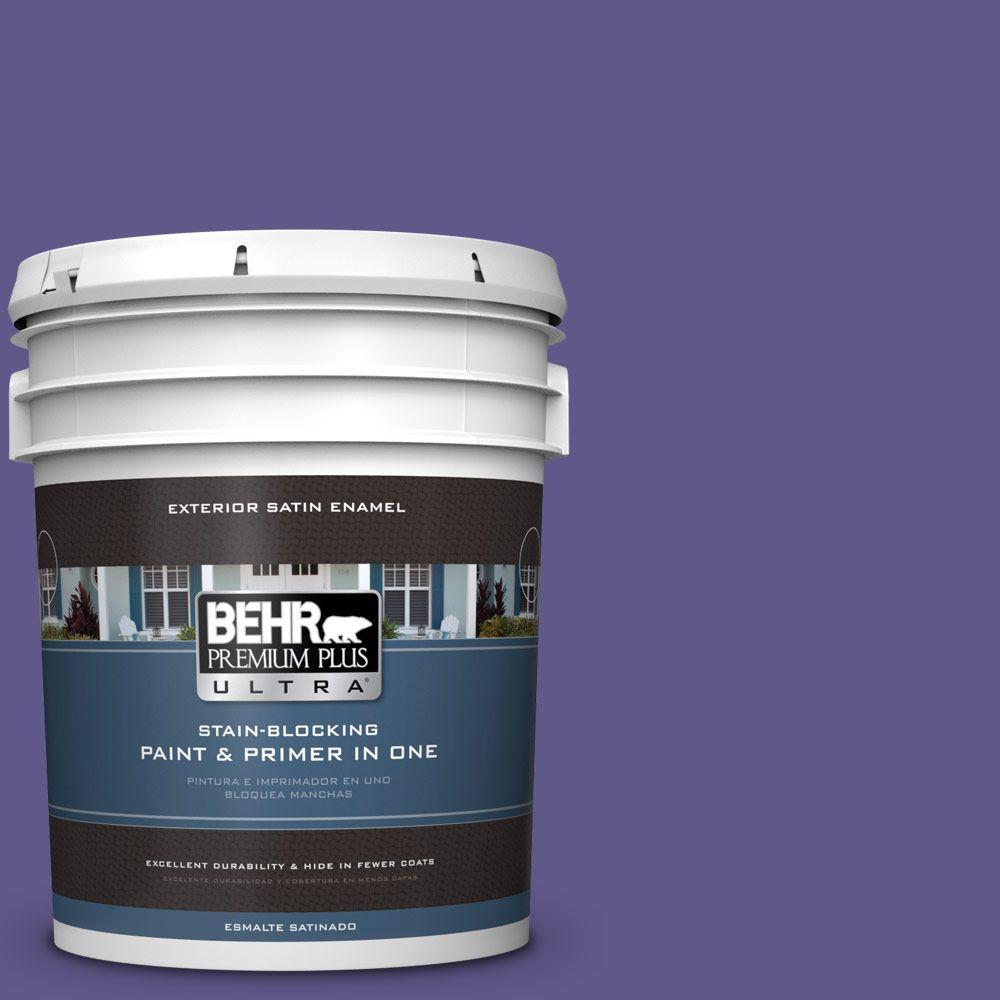 BEHR Premium Plus Ultra 5-gal. #S-G-640 Purple Balloon Sa...