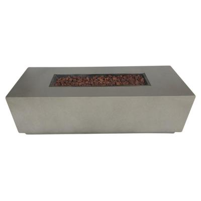 Torch Patio Concrete Fire Pit Wood Outdoor Coffee Table