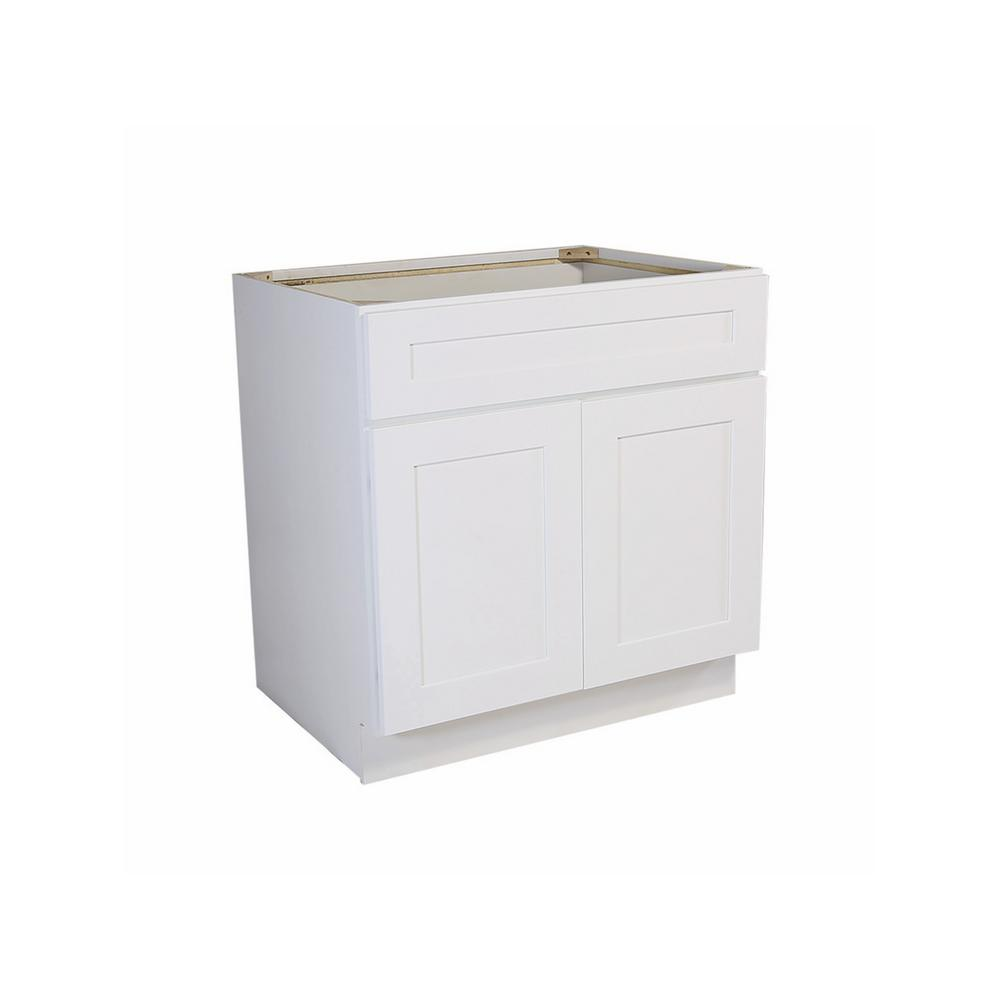 Kitchen Sink Base Cabinet Plans: Design House Brookings Fully Assembled 36x34.5x24 In