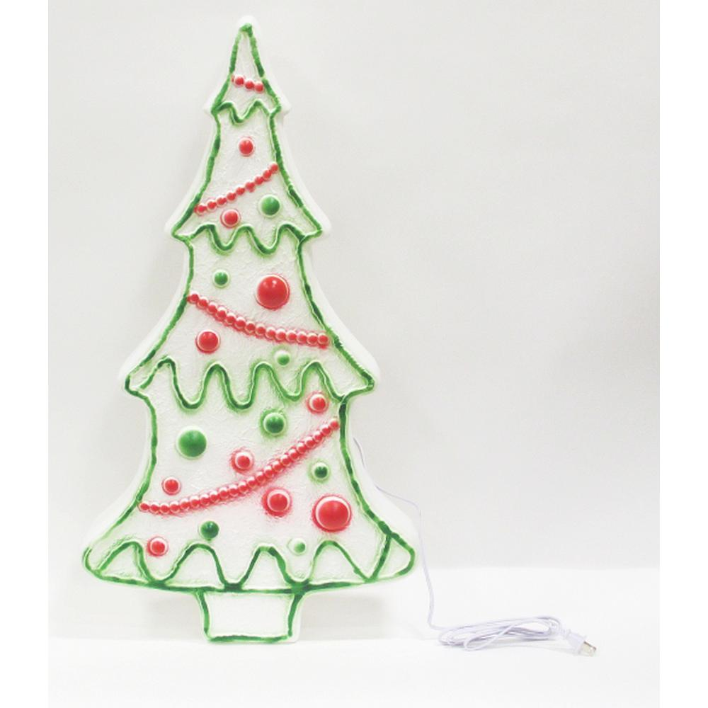 United Solutions 28 in. Christmas Tree with light-UP8055 - The ...