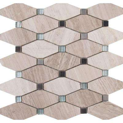 Bayview Elongated Octagon 12 In X 10 Mm Gl Metal Mesh