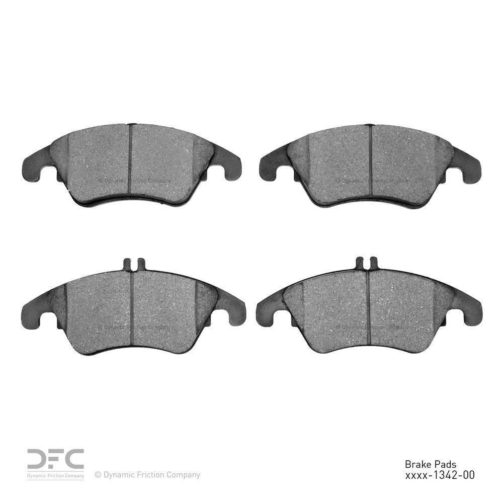Dynamic Friction Company Dfc 5000 Advanced Brake Pads Ceramic 1551 1342 00 The Home Depot