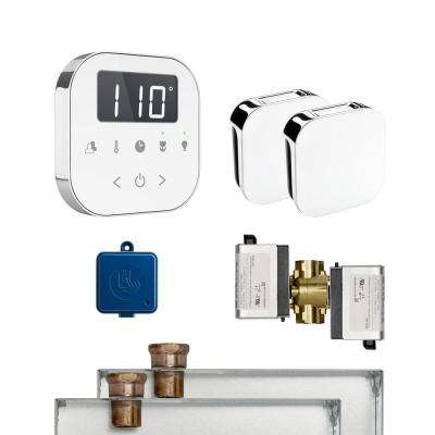AirButler 2 Package White Polished Chrome
