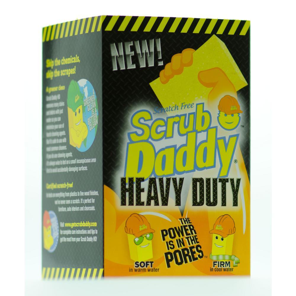 Heavy Duty Scrubber, Sponge