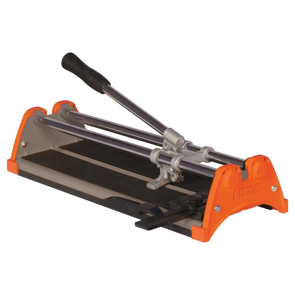 Hdx 14 in rip ceramic tile cutter 10214x the home depot rip ceramic tile cutter doublecrazyfo Gallery