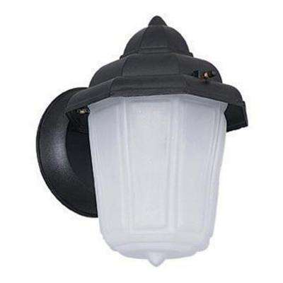 Hastie 1-Light Black Outdoor Wall Lantern