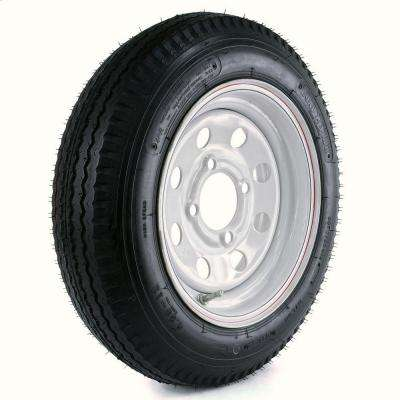 480-12 Load Range B 4-Hole Mod Trailer Tire and Wheel Assembly