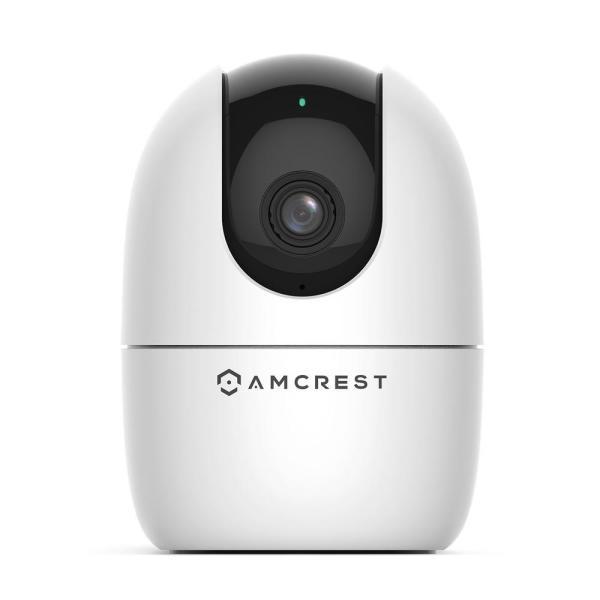 SmartHome 1080P Indoor Pan/Tilt Wireless IP Security Camera, With IR Night Vision, 2-Way Talk, 93° Viewing Angle