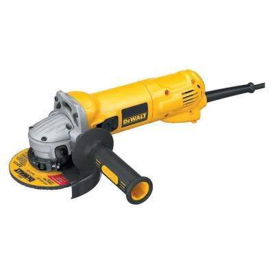 10 Amp 4-1/2 in. Small Angle Grinder with Slide Switch