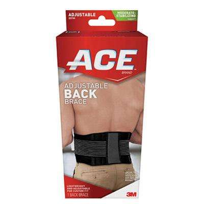 One Size Adjustable Back Brace
