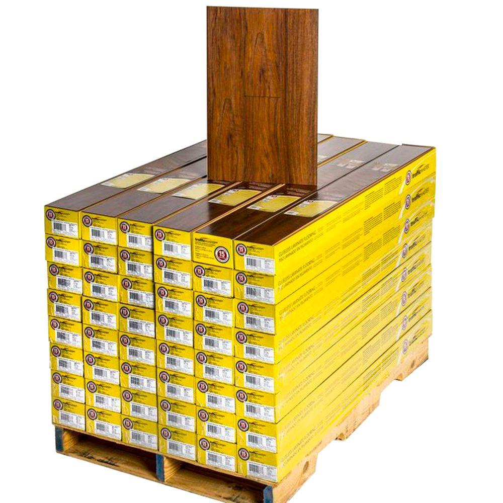 TrafficMASTER Bridgewater Blackwood 12 mm Thick x 4-15/16 in. Wide x 50-3/4 in. Length Laminate Flooring (672 sq. ft. / pallet)