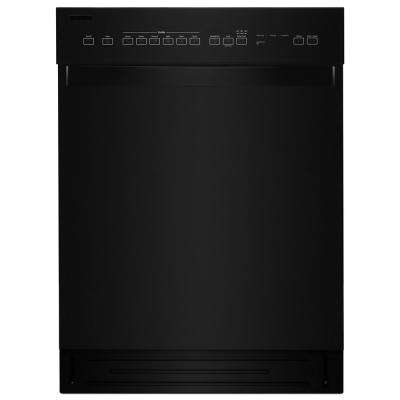 Front Control Built-In Tall Tub Dishwasher in Black with Stainless Steel Tub, 51 dBA