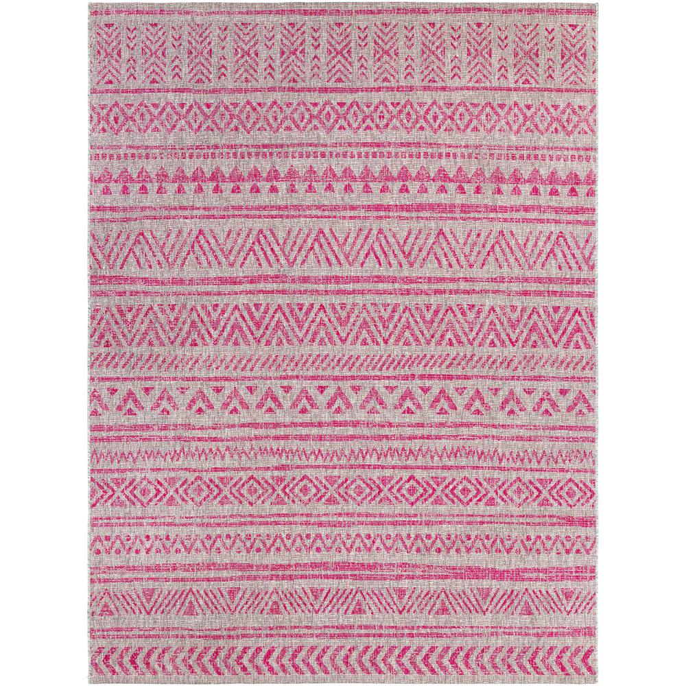 Bright Outdoor Area Rugs: Artistic Weavers Cranleigh Bright Pink 8 Ft. X 10 Ft