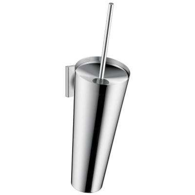 Axor Starck Organic Toilet Brush with Holder in Chrome