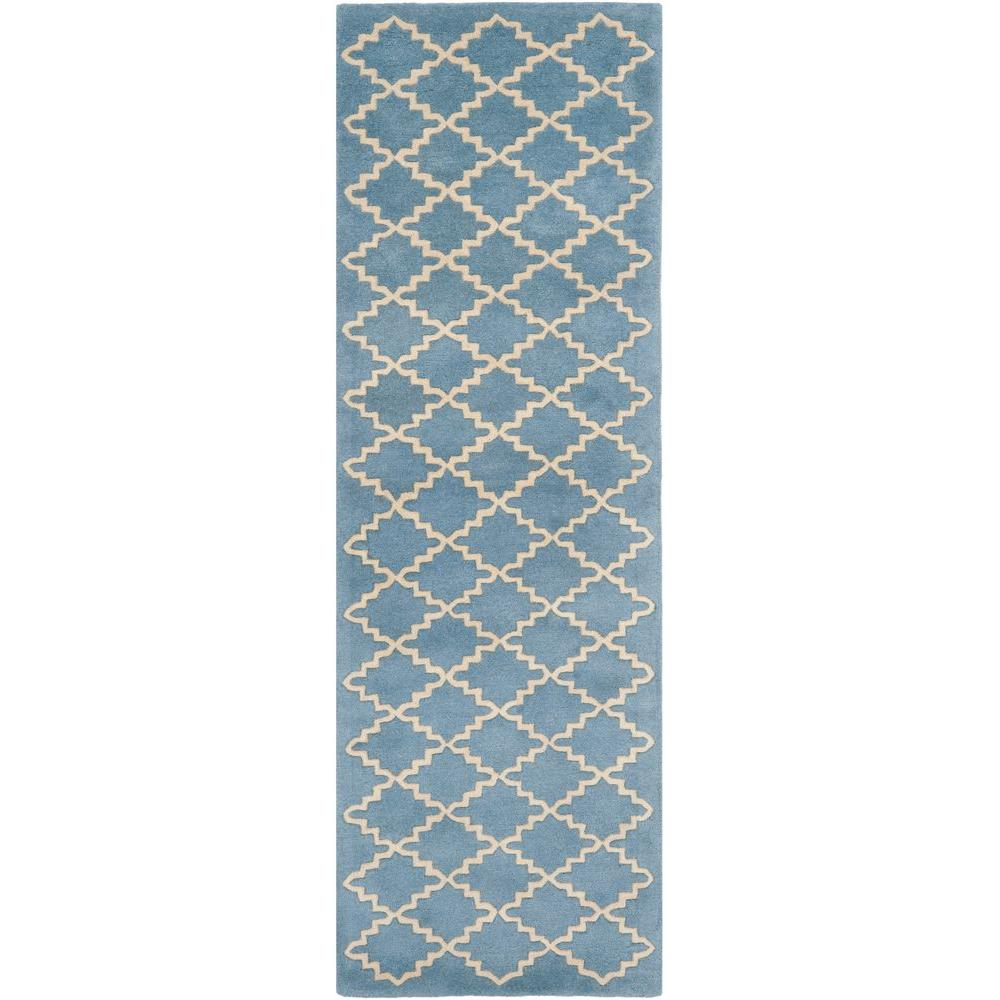 Chatham Blue Grey 2 ft. 3 in. x 7 ft. Rug