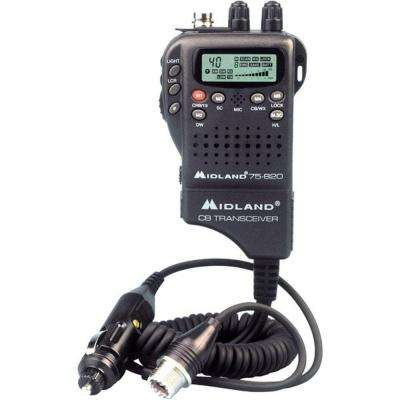 30-Mile 40 Channel Hand-Held CB Radio (1-Pack)