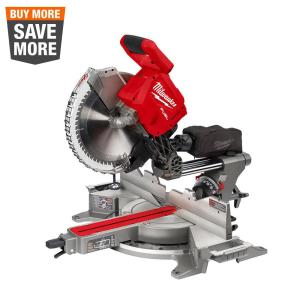 M18 FUEL 18-Volt Lithium-Ion Brushless Cordless 12 in. Dual Bevel Sliding Compound Miter Saw (Tool-Only)