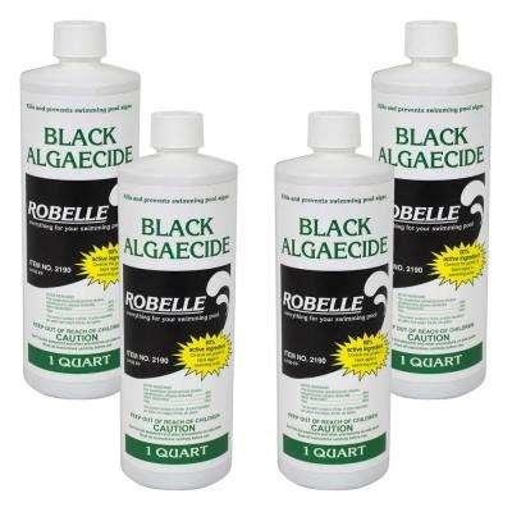 1 qt. Black Algaecide for Swimming Pools (4-Pack)