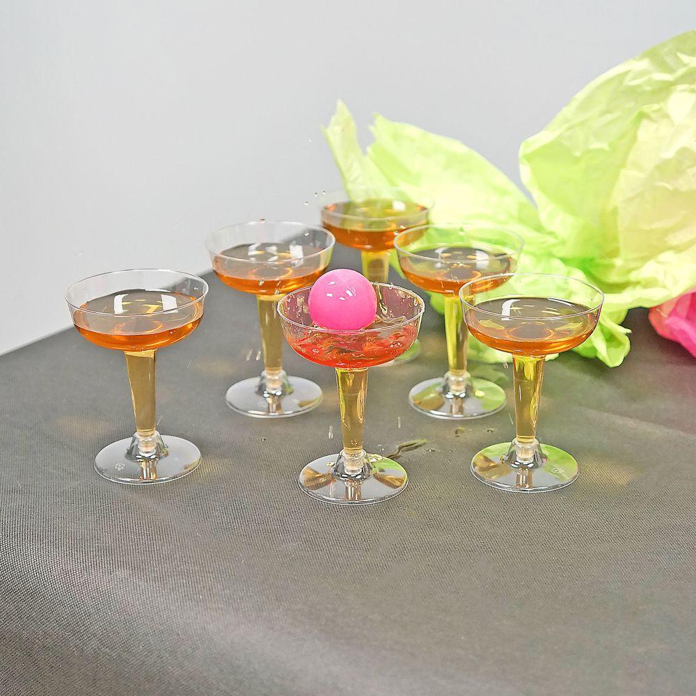 12-Piece Wine Glass Pong Set