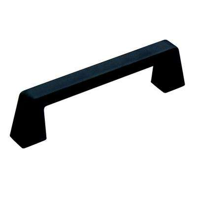 Blackrock 3-3/4 in (96 mm) Center-to-Center Black Bronze Cabinet Drawer Pull