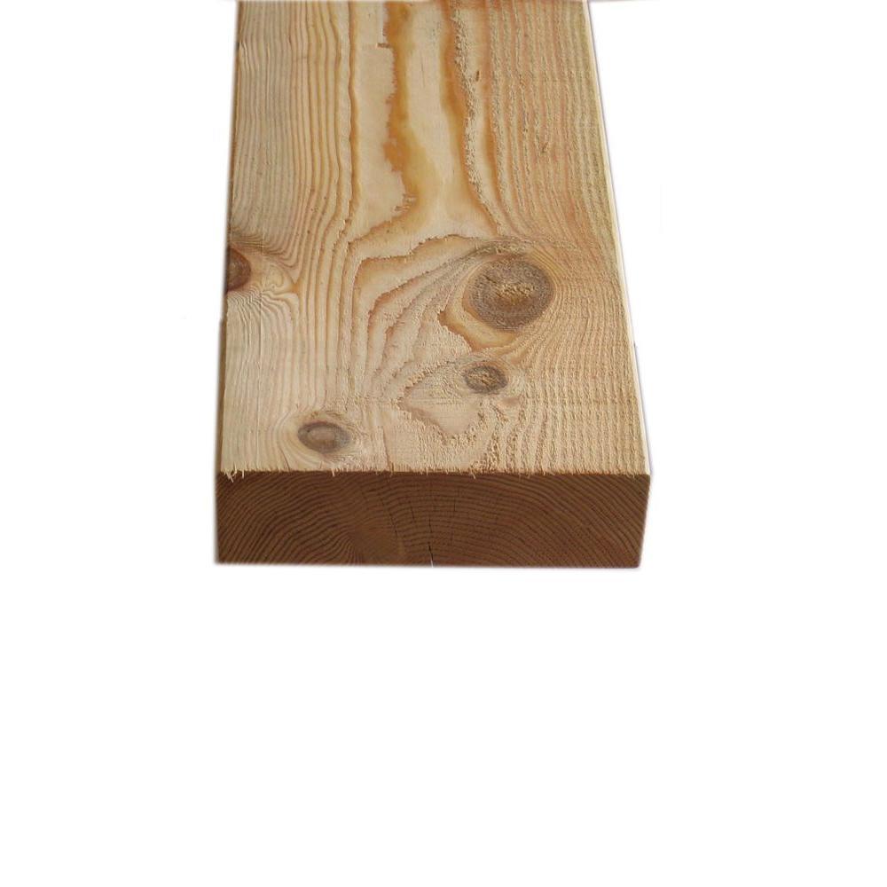 null 4 in. x 10 in. x 12 ft. Prime #1 Douglas Fir Lumber