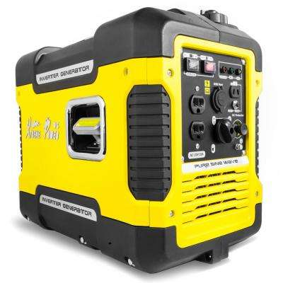 2,000-Watt Gasoline Powered Inverter Generator with 5-Volt USB