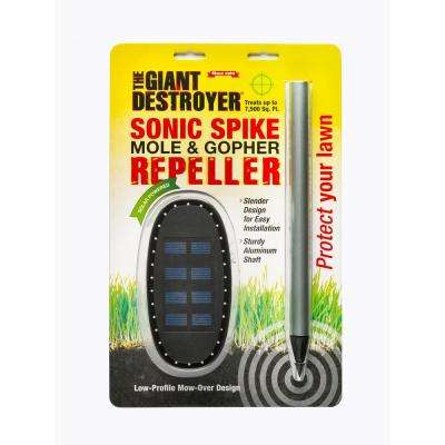 Sonic Spike Mole and Gopher Repeller