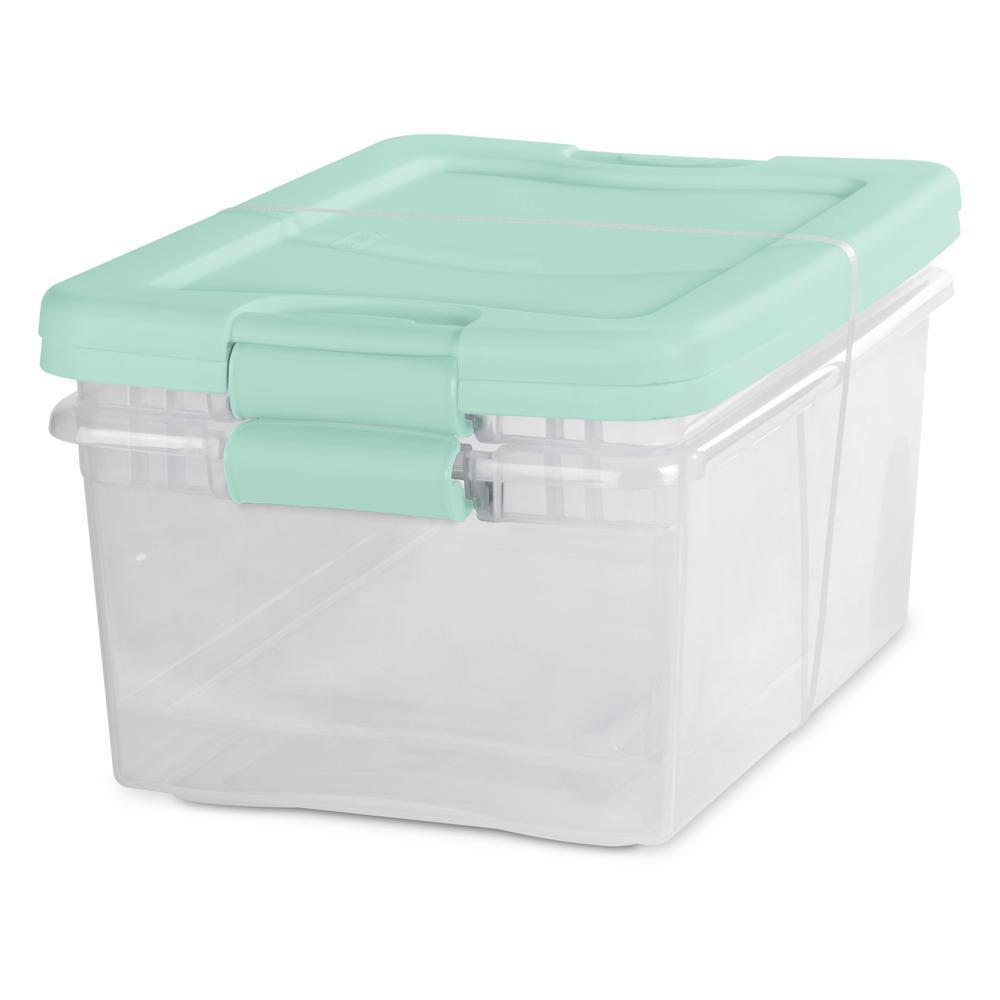 15 Qt. Latching Storage Bin (Set of 2)