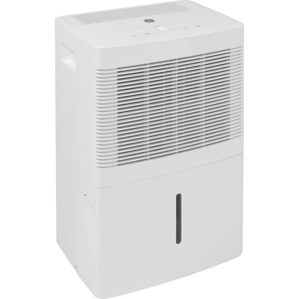 GE 30 pt. Dehumidifier, Whites GE appliances provide up-to-date technology and exceptional quality to simplify the way you live. With a timeless appearance, this family of appliances is ideal for your family. And, coming from one of the most trusted names in America, you know that this entire selection of appliances is as advanced as it is practical. Color: Whites.
