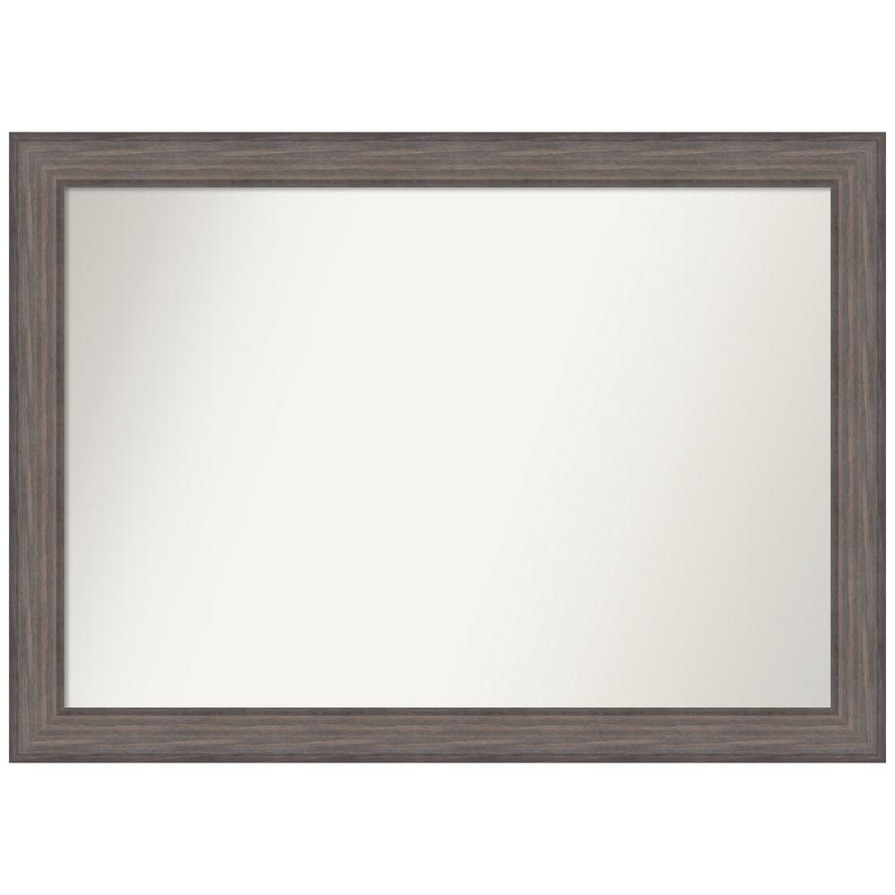 Amanti Art Choose Your Custom Size 46.25 in. x 33.25 in. Country Barnwood Decorative Wall Mirror was $569.95 now $279.84 (51.0% off)