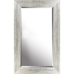 Mirrorize Canada 26 50 In X 42 50 In X 0 75 In Antique Silver Beveled Decorative Wall Mirror Imm752aonl The Home Depot