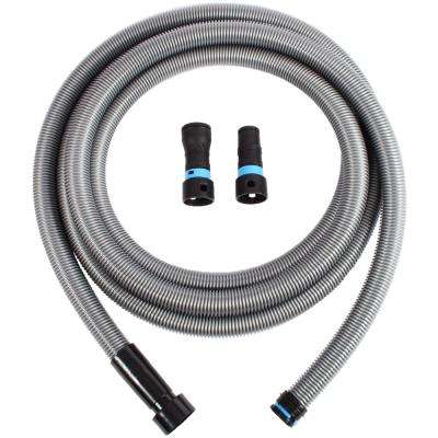 16 ft. Hose with Dust Collection Power Tool Adapters for Wet/Dry Vacuums