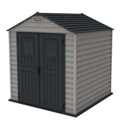 Duramax Building Products Plastic Sheds Sheds The Home Depot
