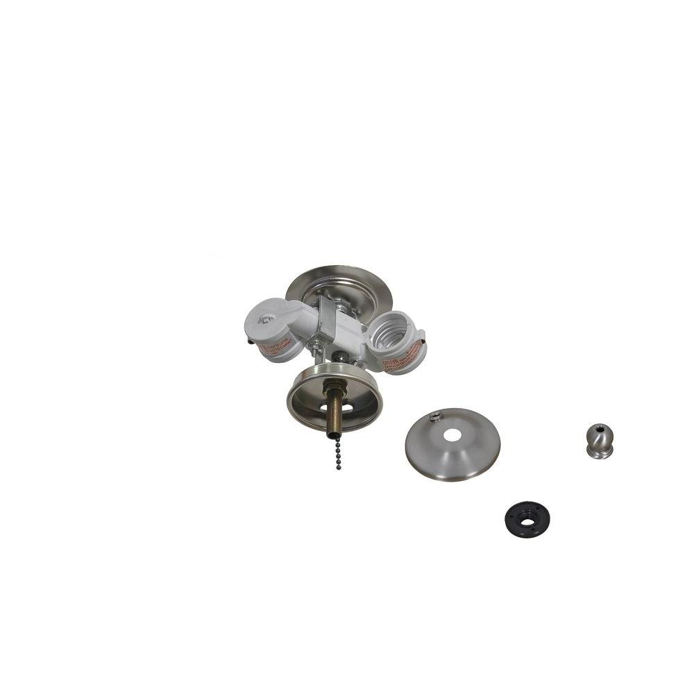 air cool larson 52 in brushed nickel ceiling fan replacement light