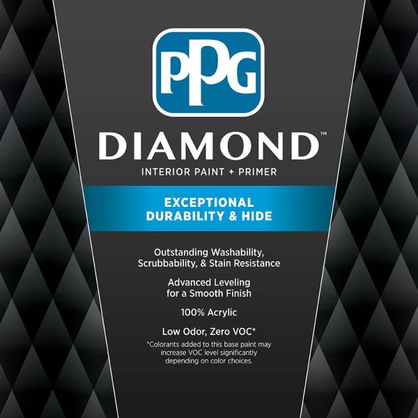 Reviews For Ppg Diamond 5 Gal Hdgr03d Bashful Pink Eggshell Interior Paint With Primer Hdgr03dd 05en The Home Depot