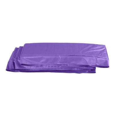8 ft. x 14 ft. Purple Super Trampoline Replacement Safety Pad