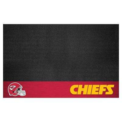 Kansas City Chiefs 26 in. x 42 in. Grill Mat