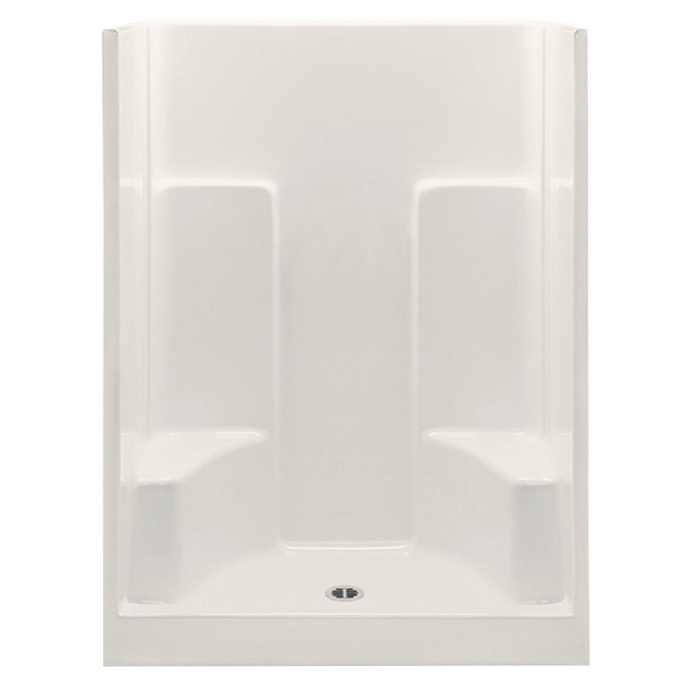 Aquatic Everyday Smooth Wall 54 in. x 35 in. x 72 in.1-Piece ...