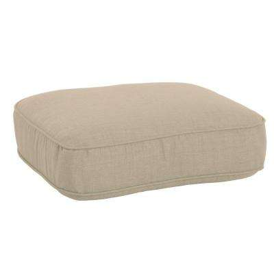 Lily Bay-Lake Adela Sand Replacement Outdoor Ottoman Cushion