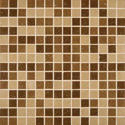 12 in. x 12 in. x 4mm Canyon Vista Polished Glass Mesh-Mounted Mosaic Tile (20 sq. ft. / case)