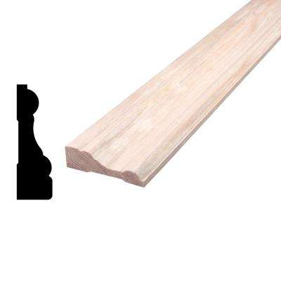 11/16 in. x 2-1/4 in. x 84 in. Mixed Grain Hemlock Casing