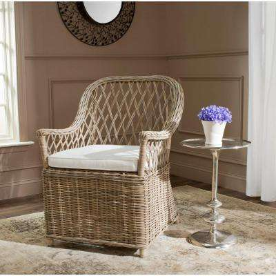 Maluku Natural Rattan Arm Chair