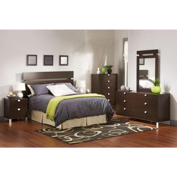South Shore Spark 5-Drawer Chocolate Chest 3259035